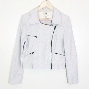 Allihop Asymmetrical Zip Jacket Blazer